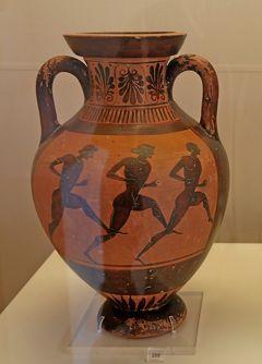 2018.8ギリシアザキントス島,ペロポネソス半島ドライブ旅行21-古代オリンピック競技博物館