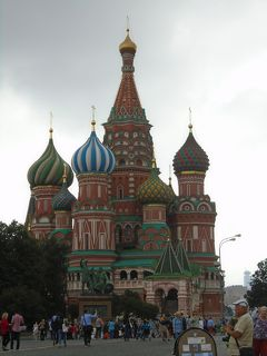 ロシア訪問記 『赤の広場と聖ワシリー大聖堂』 歴史の証人,赤の広場とロシア正教の総本山