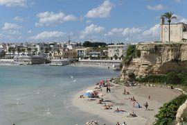 美しき南イタリア旅行♪ Vol.439(第16日)☆オートラント:オートラント湾のビーチと旧市街を眺めて♪