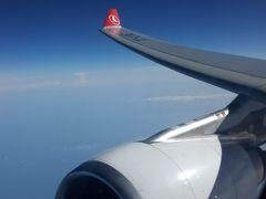 アタテュルク空港(イスタンブール)からフィウミチーノ空港(ローマ)と軽くローマでランチ!!!