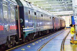 ローマからシチリア島へは夜行列車で!列車が船で海を渡るってよ!!