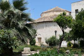 美しき南イタリア旅行♪ Vol.462(第17日)☆ブリンディジ:円形教会 秘密の花園はオリーブ・レモン・オレンジの木も♪