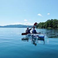 北海道ドライブ旅行(5) サッポロビール園==新千歳空港でお買い物==洞爺湖でカヌー遊び