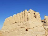 トルクメニスタン・ウズベキスタン 一人旅�(マーリ・メルブ遺跡)
