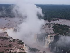南米旅行 イグアスの滝 ブラジル側