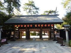櫻木神社で冬桜