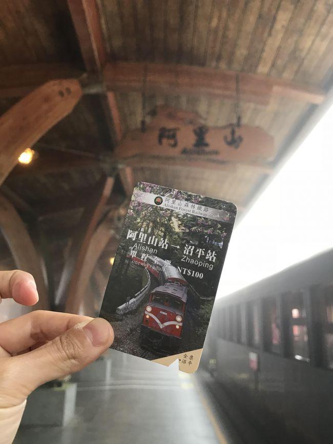 憧れの阿里山森林鉄道に乗る為、3泊の日程で阿里山に行ってきました。<br />台湾滞在は計10日、前後は台北泊だったのでその時の詳細は省きます。<br /><br />10/6~7 台北<br />10/8 嘉義<br />10/9 奮起湖<br />10/10 阿里山<br />10/11~13台北<br /><br />の日程で行ってきました。<br /><br />3日目は奮起湖からバスに乗り、いよいよ阿里山へ。