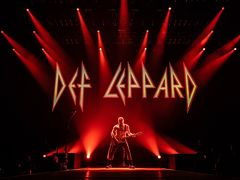 Def leppard tour in Japan 2018