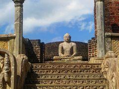 【スリランカ】まるで遺跡の総合展示場、それは見れば見る程疲れるポロンナルワ遺跡。