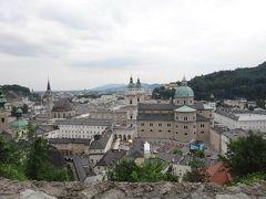 ヨーロッパ周遊ゼミ旅行(4日目・電車乗り換えの間にオーストリア・ザルツブルクを街歩き)