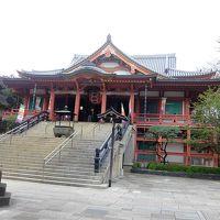 目黒不動尊と隣の五百羅漢寺へ