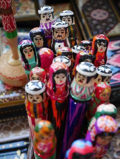 【中央アジア】゜*・ トルクメニスタン「地獄の門ダルヴァザ」をめざして ~9/9作目 ウズベキスタン首都タシケント☆かわいい土産たち編~ ・* ゜