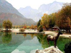 団塊夫婦のヨーロッパ紅葉を巡る旅・2018ー(5)スロベニア1・ユリアンアルプスの美しい渓谷と湖(ヴィントガル渓谷&ヤスナ湖)を巡る
