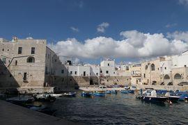 美しき南イタリア旅行♪ Vol.492(第18日)☆美しいモノポリ旧市街 旧港から中世時代の景観♪