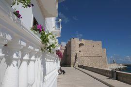 美しき南イタリア旅行♪ Vol.493(第18日)☆美しきモノポリ旧市街 モノポリ城♪