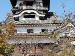 戦国史跡-9 犬山城(国宝・現存天守)日本の最古様式 ☆望楼型で内部は4階