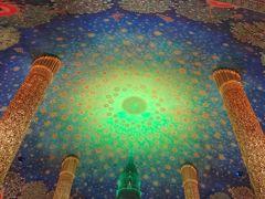 バンコク街散歩…絶景の天井画、ワットパークナムへ