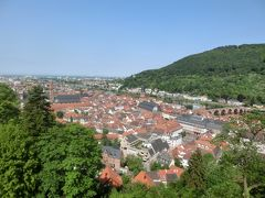 2018GW ドイツ30:ハイデルベルク 聖霊教会とハイデルベルク城