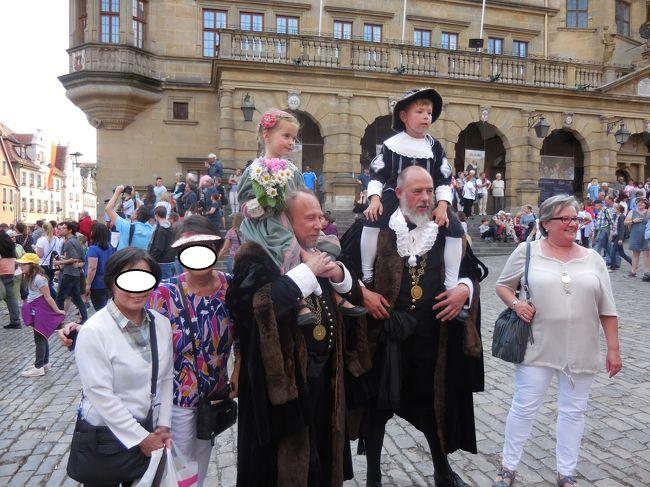 2018年ドイツの春:21初めてローテンブルクの歴史祭り(時代祭り)を見る。
