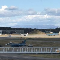 三沢空港で戦闘機
