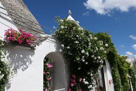 美しき南イタリア旅行♪ Vol.503(第18日)☆美しきアルベロベッロ旧市街 輝く夏の風景♪