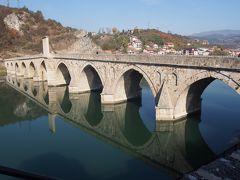 ヴィシュシェグラードにある世界遺産の橋、メフメットパシャソコロヴィッチ橋(ドリナの橋)