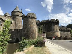 フランスでドライブ旅行2018 ⑱フ-ジェールFougèresと夜中のモン・サン・ミッシェル