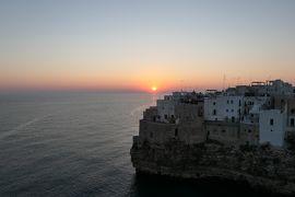 美しき南イタリア旅行♪ Vol.520(第19日)☆スイートルームテラスからアドリア海の美しい日の出♪