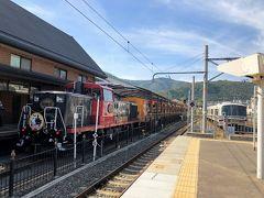 【2018年10月】2歳児と2人で行く京都:嵯峨野トロッコ列車に乗る