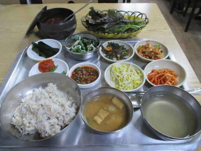 11月1日~4日まで 3泊4日、一年半ぶりの釜山を楽しんできました。<br />食べ物の総集編です。<br />店舗情報も詳しくご紹介します、参考になればうれしいです。<br />いつものように勝手に★で評価しています。