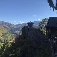 2018年11月 山形旅行記(ラフランスマラソン参加)�山寺でウォーミングアップ後、天童ホテルに宿泊
