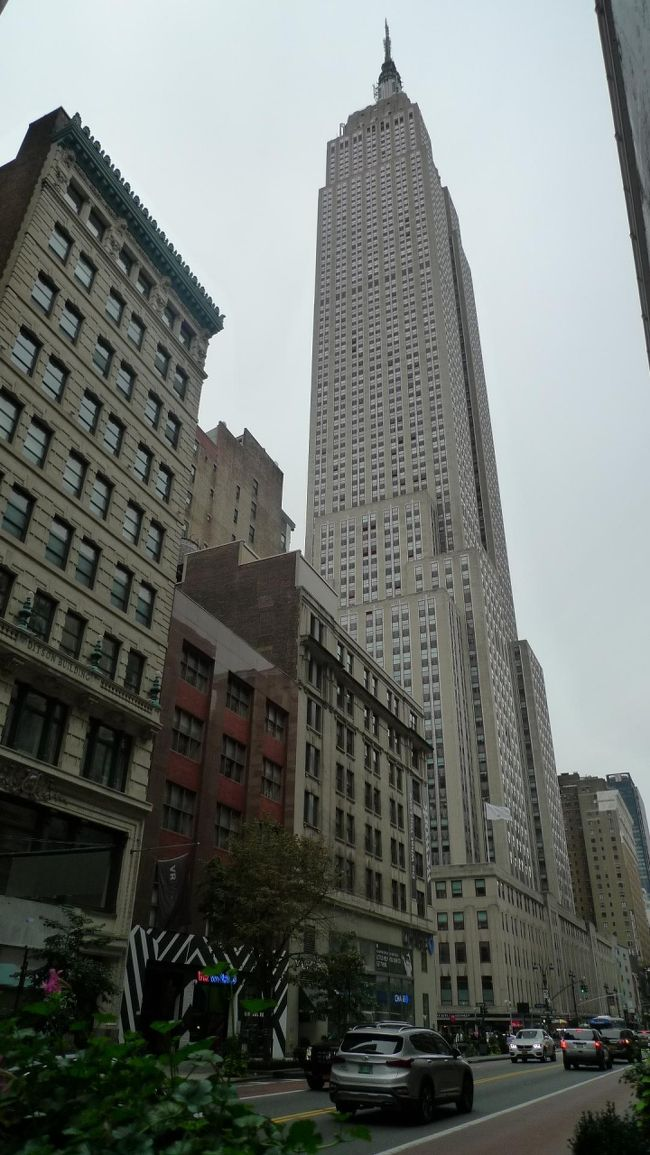 スターアライアンス ビジネスクラスで行く3週間で世界一周(13)「NY4日目 ブル・エンパイア・トップ オブ ザ ロック」
