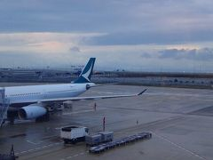 特別運航の貸切遊覧船で美しき桂林・漓江くだり5日間(57) 香港国際空港から関空へ。