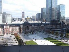 改装整備された東京駅丸の内駅舎と駅前広場で幾つか発見あった