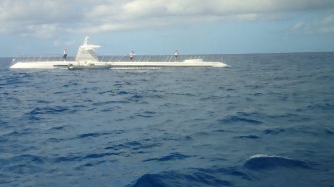 ハワイ4日目 今日も晴れです。<br /><br />今日は初めてのサブマリン乗艦です。<br />アトランティス潜水艦ツアー ハワイの海底アドベンチャー / プレミアム・サブマリン<定員64名><br />お昼からはアラモアナでお土産買いに行きますよ。<br />