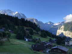 母娘旅で!10年ぶりにスイス(ヴェンゲン)