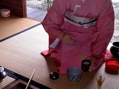 京都でお茶席に出席しました。(*^-^*)