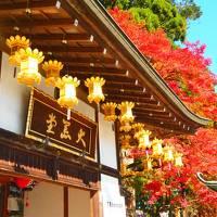 紅葉を見に比叡山と大原