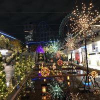 東京ドームシティ ウインター・イルミネーション2018 見て歩き