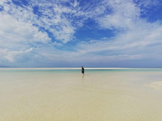 遅めの夏休み消化でどこかに行きたいと思い、初めての沖縄離島&amp;初めての一人旅。<br />どなたかの参考になれば幸いです。