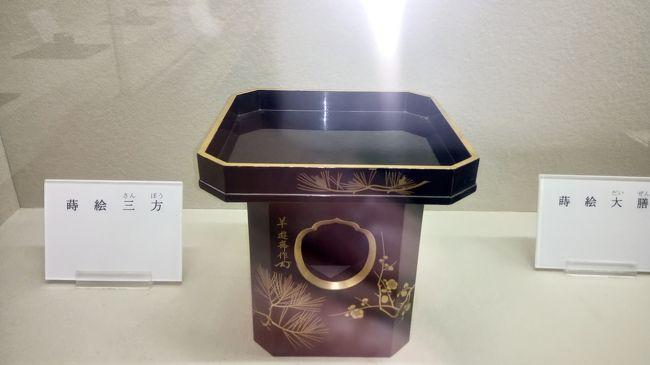 木村茶道美術館2018年後期(平成18年7月31日~11月30日)展示<br />蒔絵展を鑑賞してきました。<br />各コメントは美術館の解説書をコピーであります。<br /><br />お詫び<br />香合など小さい作品は写真が見にくいです。<br />旅行日よりかなり時間が経ってのUPになりました。 <br />