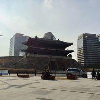 ソウルで紅葉を楽しみました