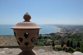 美しき南イタリア旅行♪ Vol.533(第19日)☆美しきヴァスト宮殿の庭園 アドリア海と旧市街の景観♪