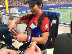 突然の野球観戦。    侍ジャパンの応援に ナゴヤドームへLets go!!!