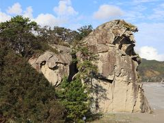 熊野古道・・伊勢路の鬼が城と七里御浜、花の窟神社、丸山千枚田を訪ねます。
