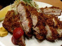 豊洲市場内 とんかつ 八千代で食べてきました。