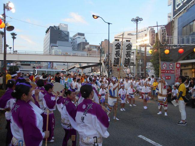 """たまには「ベタ」な観光旅行1808  今年何かとひと悶着あった""""阿波踊り""""を見に行きました。 ~徳島~"""