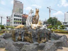 4歳娘を連れてジャカルタ・クチン・シンガポール7日間の旅5-のんびり猫の町クチンをぶらぶら