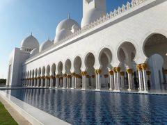 UAE・ドバイ一人旅(3日目:アブダビ観光と夜のドバイの街歩き)