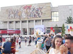 未知の国アルバニア! 博物館で難しい歴史に触れて凹んだ心、ワールドカップで癒された @ティラナ(バルカン半島旅その12)